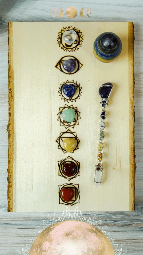 Quel chakra de pierre choisir?
